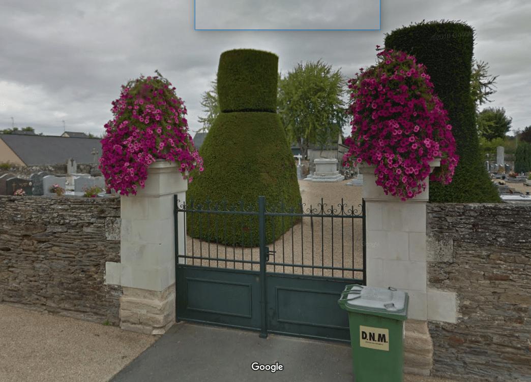 cimetière de Saint-Melaine-sur-Aubance
