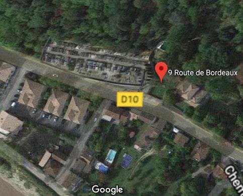 Photos du cimetière de Cambes sur 9 Route de Bordeaux
