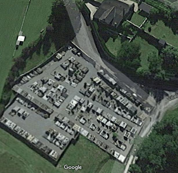 cimetières de Asson