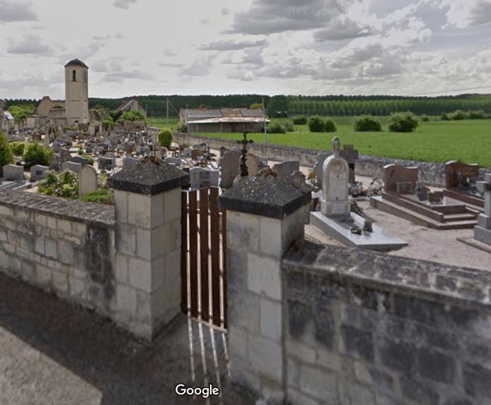 cimetière de Brézé