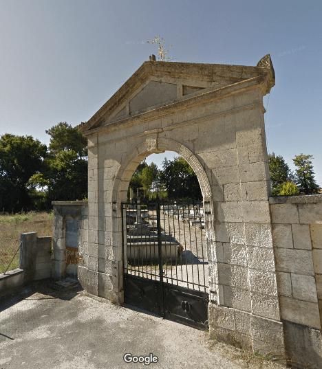 cimetière de Sainte-Eulalie-en-Born