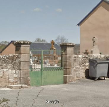cimetières de Saint-Christophe-Vallon