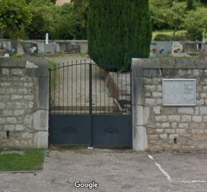 cimetière de Grilly