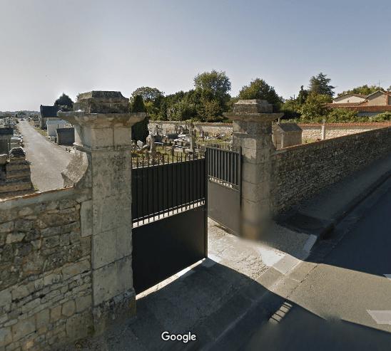 cimetière de Champagne-Mouton