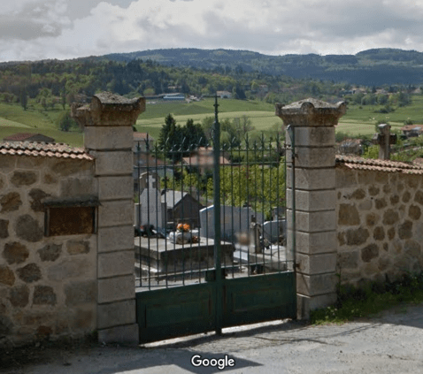 cimetière de Luriecq