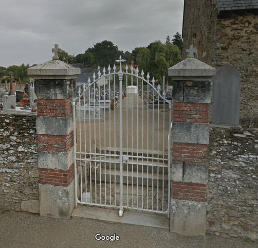 cimetière de Brain-sur-Longuenée