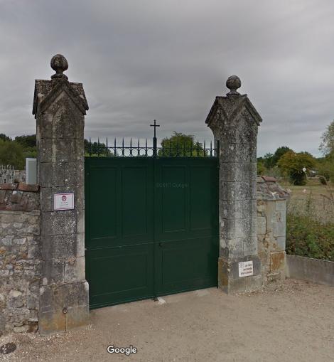 cimetière de Azay-le-Ferron