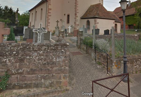 cimetière de Neuve-Église