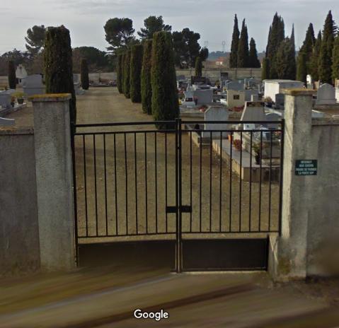 cimetière de la Redorte