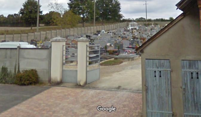 cimetière de Blancafort