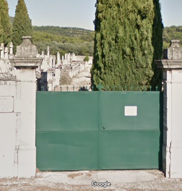 cimetière de Vacqueyras