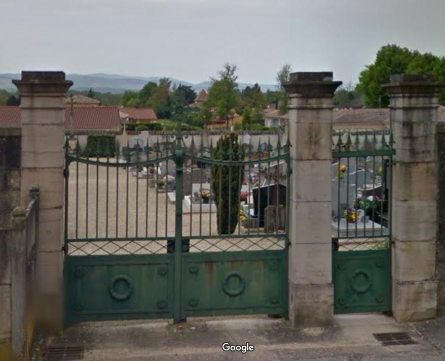 cimetière de Cormoranche-sur-Saône