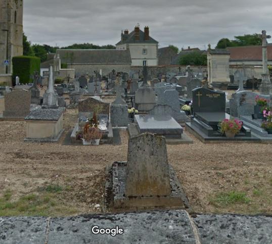 cimetière de Berchères-les-Pierres