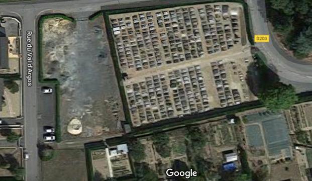 cimetière de Chazé-sur-Argos