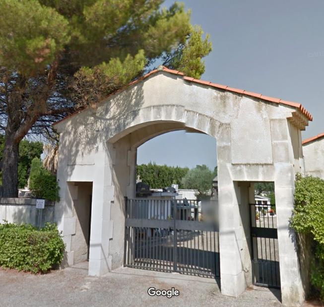cimetière de Verquières
