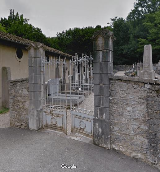 cimetière de Vaux-en-Bugey