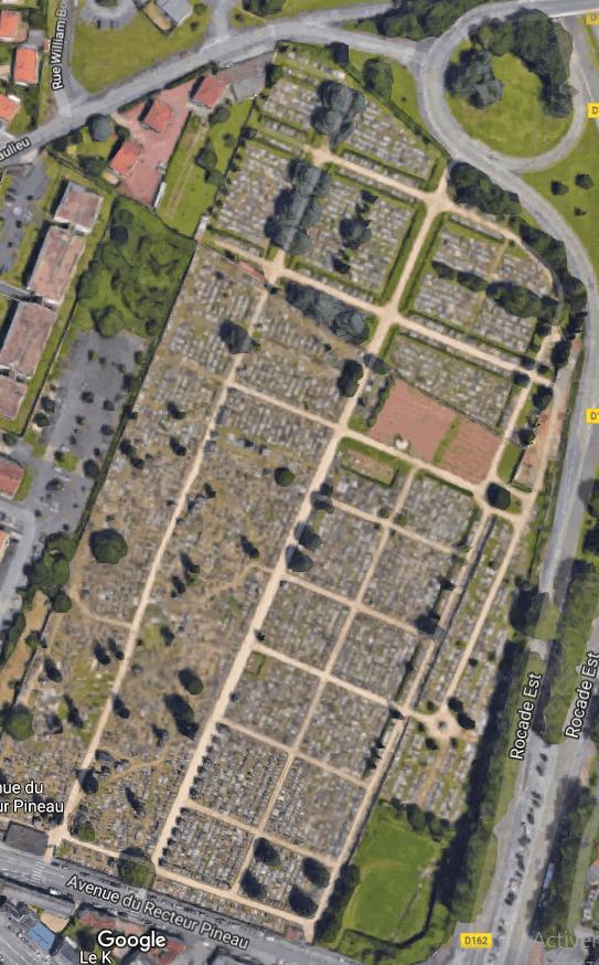 cimetières de Poitiers