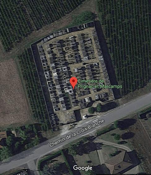 cimetière de Prignac-et-Marcamps