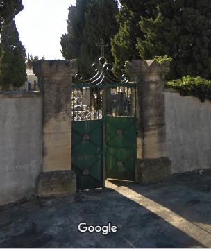 cimetière de Cabrières