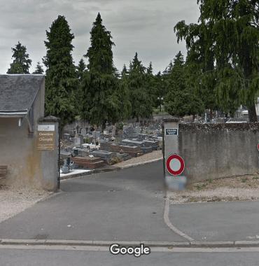 cimetières de Châteaudun