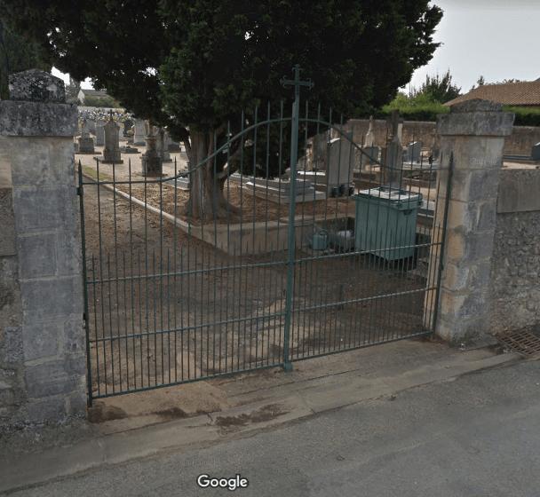 cimetière de Nieuil-l'Espoir
