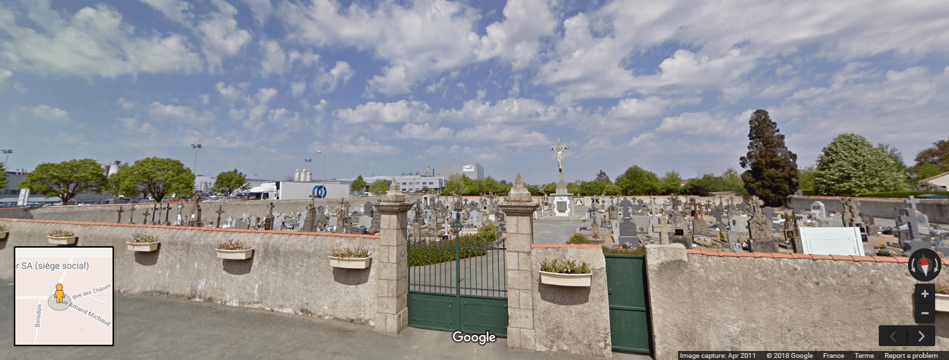cimetière des Cerqueux