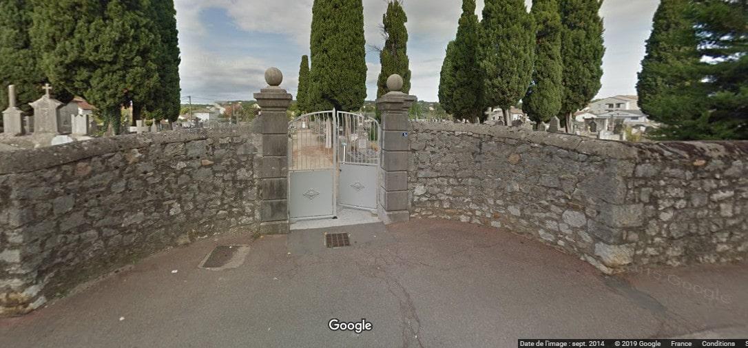 cimetière de Ruoms