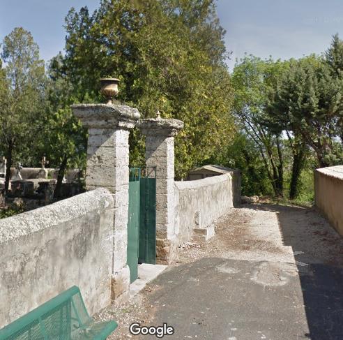 cimetière de Brignac