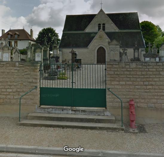 cimetière de Mergey