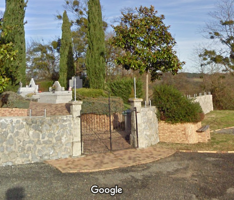 cimetière de Lacq