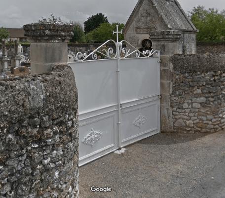 cimetière de Archigny