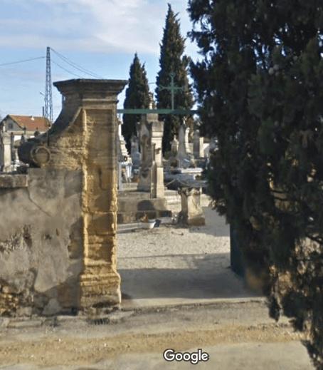 cimetière de Remoulins