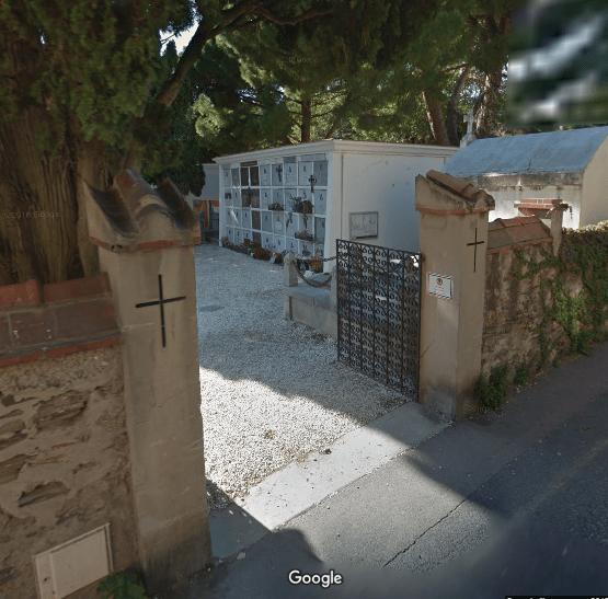 cimetière de Collioure