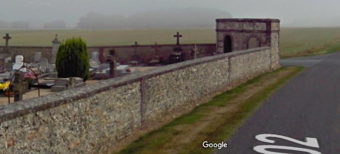 cimetière de la Ferté-Vidame