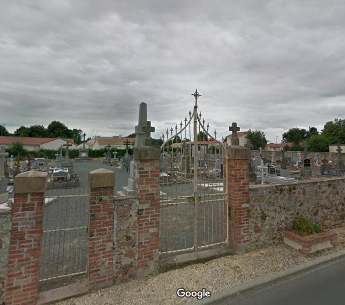 cimetière de Chanteloup-les-Bois