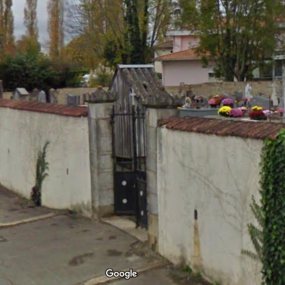 cimetière de Cagnotte