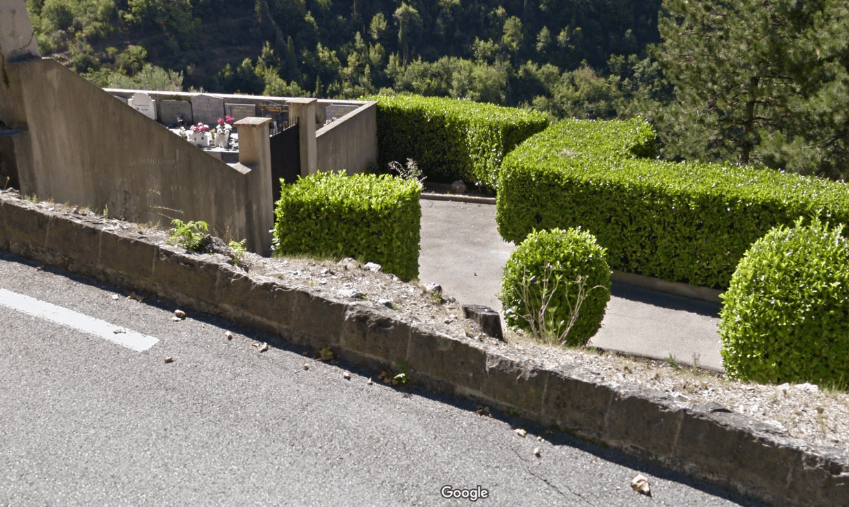 cimetières de L'Escarène