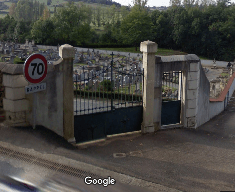 cimetière de Perreux