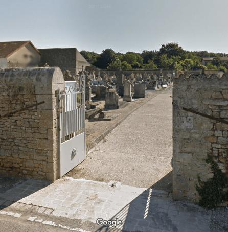 cimetière de Saint-Maurice-la-Clouère