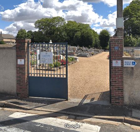 cimetière de Saussay