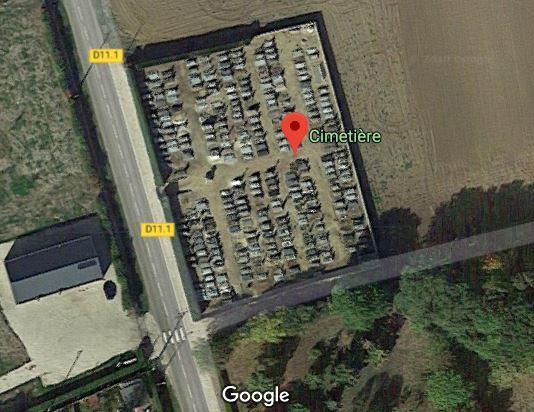 Photos du cimetière de Laons