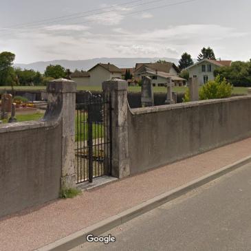 cimetière de Pougny