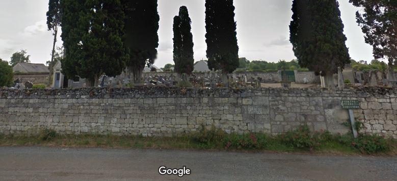Photos du cimetière sur Le Coudray-Macouard