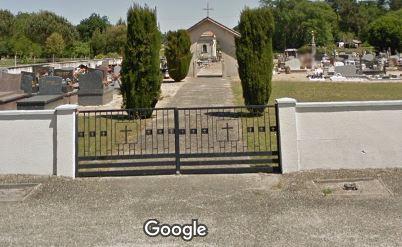 Porte d'entrée du cimetière de Haut-Mauco