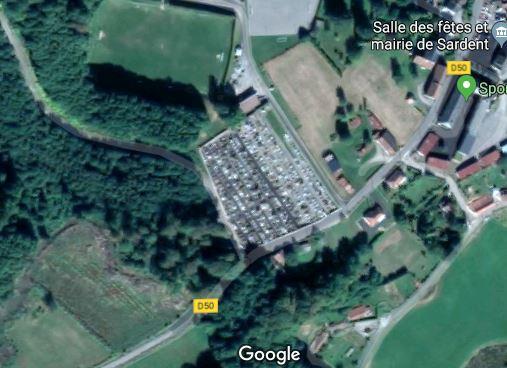 Photos du cimetière de Sardent