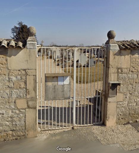 cimetière de Chaleins