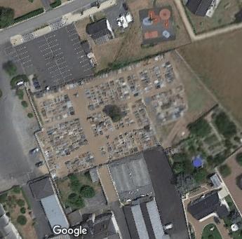 cimetière de Villebernier