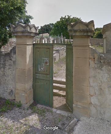 cimetière de Souvignargues
