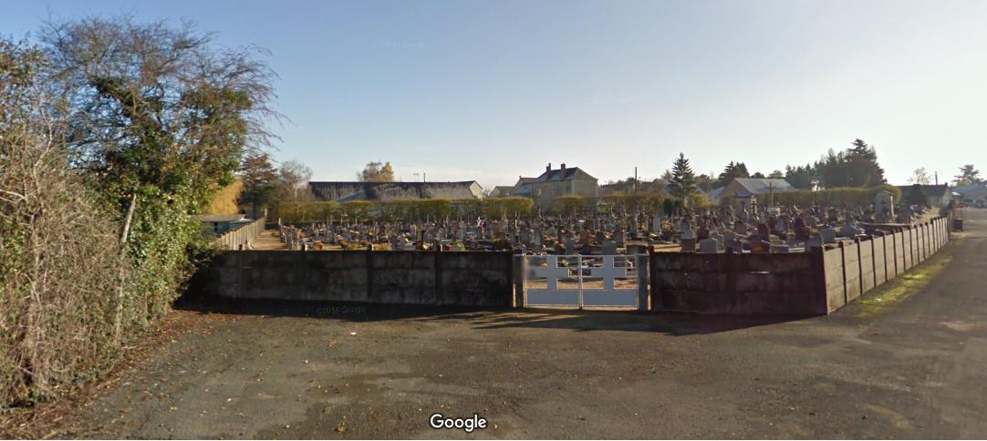 Ancien cimetière de Châteauneuf-sur-Sarthe