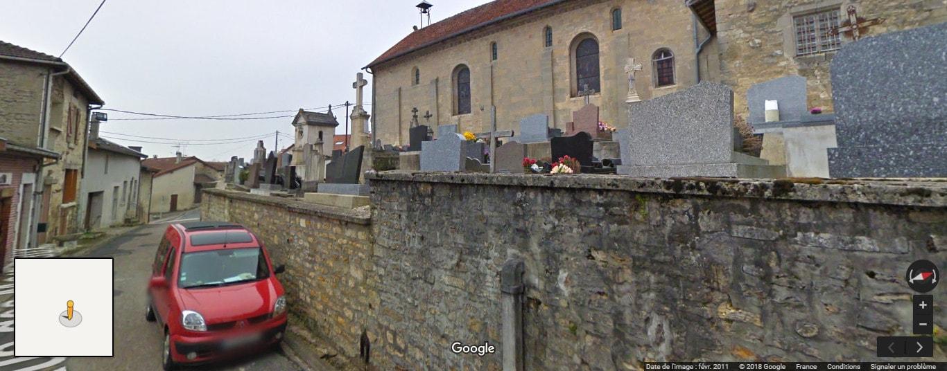 Ancien cimetière deChancenay
